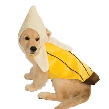 Rubie's Pet Costume, Small, Banana