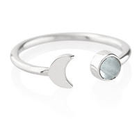 The Moon & I Ring Moonstone