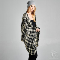 Get Your Plaid On Poncho