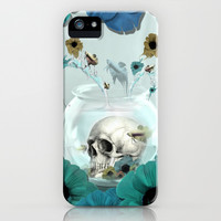 Looking glass skull iPhone & iPod Case by Kristy Patterson Design