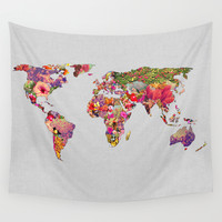 It's Your World Wall Tapestry by Bianca Green