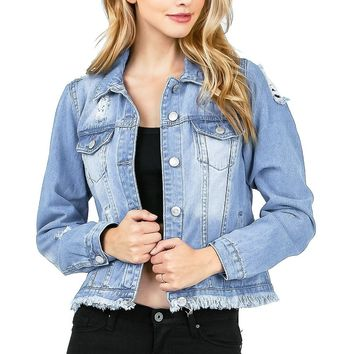 Undone Denim Jacket