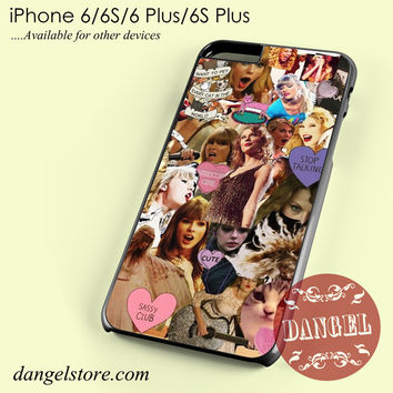 Taylor Swift Awesome Collage Phone case for iPhone 6/6s/6 Plus/6S plus