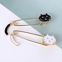 Cat Safety Pin