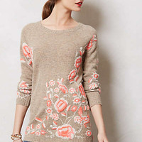 Embroidered Ranunculus Tunic