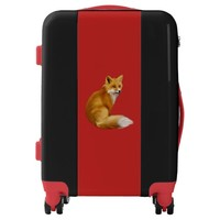Awesome Red Fox Luggage