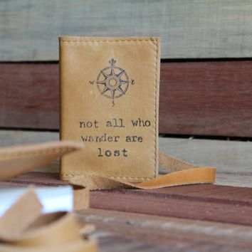 Compass/Not All Leather Journal