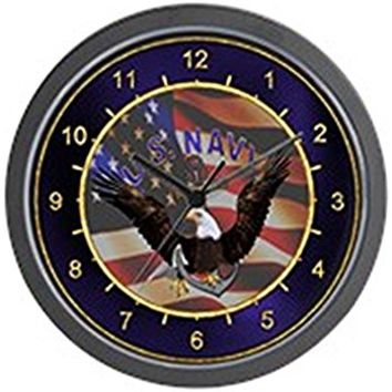 "Collectable Sign and Clock 910229 14"" US Navy Lighted Clock"