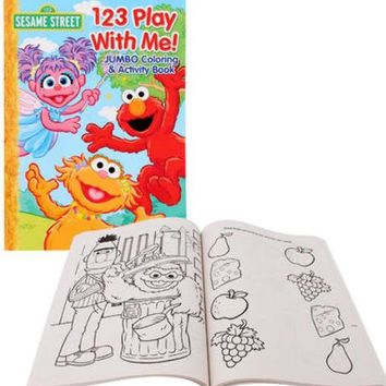 sesame street coloring book - 96 pages Case of 144