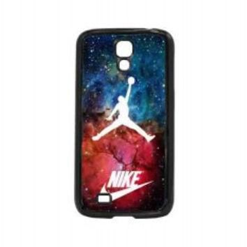 nike logo nebula air jordan for samsung galaxy s4 case