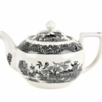 Burleigh | Dinnerware | Black Willow | Teapot | Small |