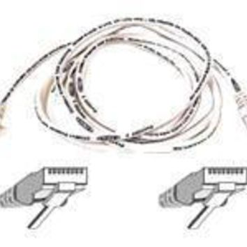 Belkin Components 25ft Cat5e Snagless Patch Cable, Utp, White Pvc Jacket, 24awg, T568b, 50 Micron,