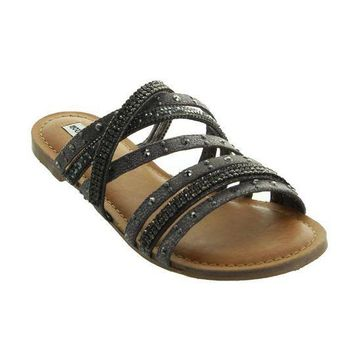 MDIG8 Not Rated Caviar Sandals - Black