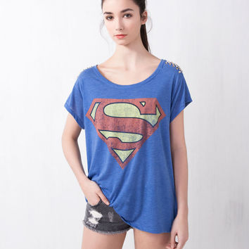 SUPERMAN HEROES TOP - T-SHIRTS AND TOPS - WOMAN -  United Kingdom