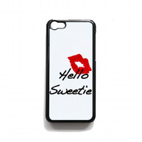 kiss hello sweetie For iphone 5c case
