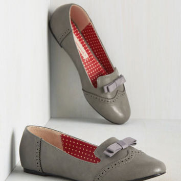 Just a Stone's Throwback Away Flat | Mod Retro Vintage Flats | ModCloth.com