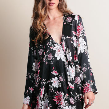 Flora Kimono Wrap Dress By Somedays Lovin