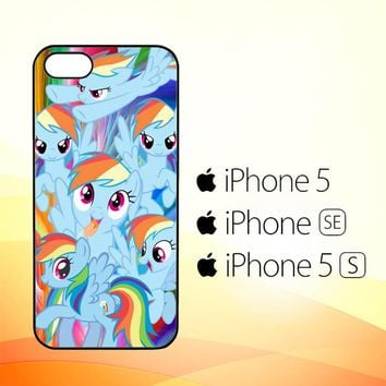 MLP Rainbow Dash R0177a  iPhone 5|5S|SE Case