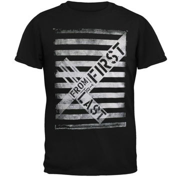 From First To Last - Stripes T-Shirt