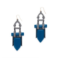 J.Crew Womens Lulu Frost Hypnotic Earrings