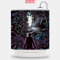 The Poster of A Day to Remember Shower Curtain Home & Living Bathroom 156