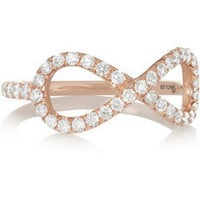 Anita Ko | Infinity 18-karat rose gold diamond ring | NET-A-PORTER.COM
