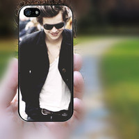 S4 mini,S3 mini,ipod 5 case,ipod 4 case,z10 case,q10 case,iphone 4 case,iphone 4s case,iphone 4 cases--Harry Styles,in plastic,silicone.