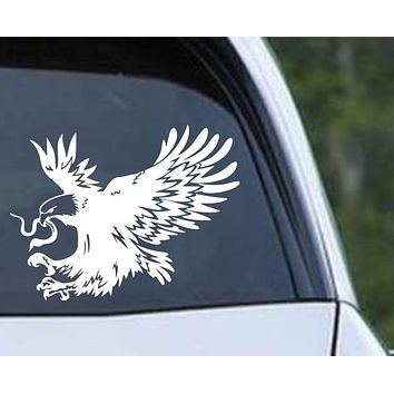 Mexican Eagle Die Cut Vinyl Decal Sticker