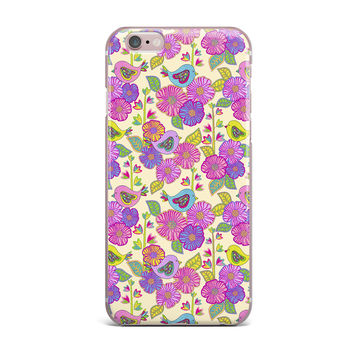 "Julia Grifol ""My Birds and My Flowers"" iPhone Case"