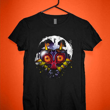 Mask of Majora Zelda tshirt for merry christmas and helloween