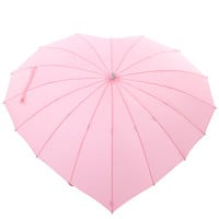Light Pink Heart Umbrella - Unique Vintage - Prom dresses, retro dresses, retro swimsuits.