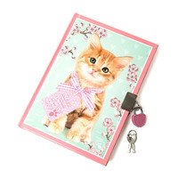 Studio Pets Keep Your Paws Off Lock Diary