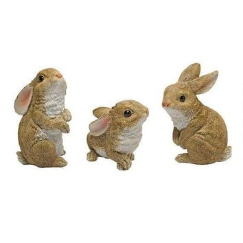The Bunny Den - Garden Rabbit Statues