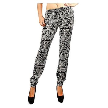 Arista Print Joggers with Pockets - Small (2-4)