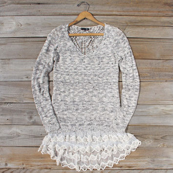 Snowy Bridge Sweater Dress
