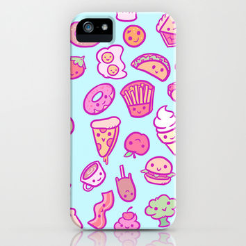 Cute Foods iPhone & iPod Case by LookHUMAN