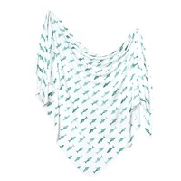 Knit Swaddle Blanket - Pacific