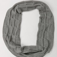 Lightweight Infinity Knit Scarf