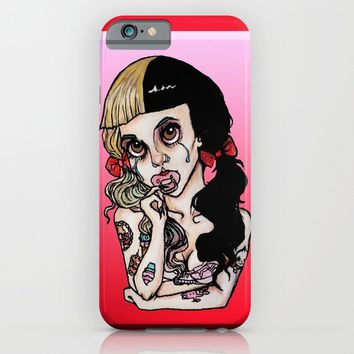 Pacify Her-Melanie Martinez iPhone & iPod Case by Julio César