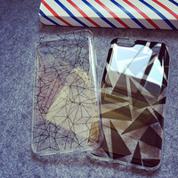 Transparent TPU Mobile Phone Cover Case for Iphone 6/6 Plus