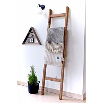 YAMAZAKI home Tower Leaning Ladder Rack White