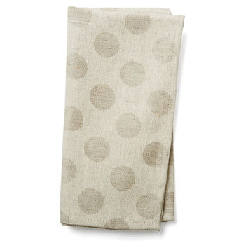 Michelle Napkins, Large Dot, Set of 4, Dinner Napkins