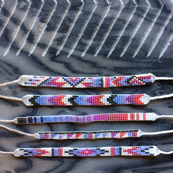 Seed Bead Friendship Bracelets