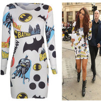 Batman Bodycon Dress