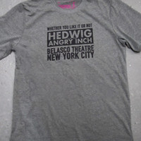 Hedwig and the Angry Inch - Official Merchandise Store > Apparel > Hedwig Belasco Theatre Tee