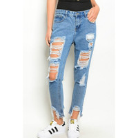 Rock It, Own It, Distressed Jeans