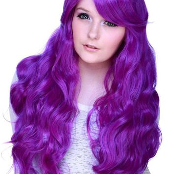 Classic Wavy [Purple Mix] | WIGS