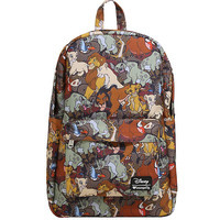 Loungefly Disney The Lion King Characters Print Backpack