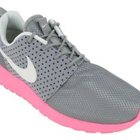 Nike Women's Roshe Run - Medium Grey / Sail-Polarized Pink-Black, 7.5 B US