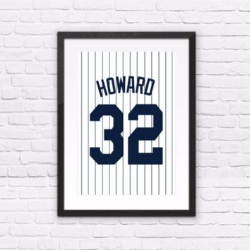 Elston Howard Number 32 Jersey